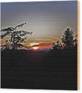 West Virginia Sunset 1 Wood Print