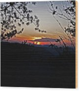 West Virginia Sunset 2 Wood Print