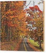 West Virginia Wandering Wood Print