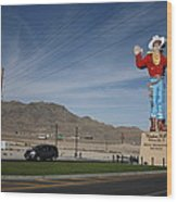 West Wendover Nevada Wood Print