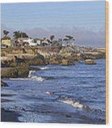 Westcliff Drive - Santa Cruz - California Wood Print