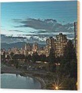 Westend Vancouver Wood Print