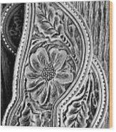 Western Details Wood Print