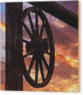 Western Gate Wood Print