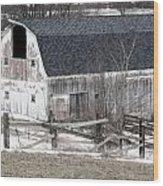 Western New York Farm 1 Wood Print