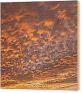 Western Sky - 1 Wood Print