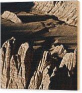 Western Tibet Geology Wood Print