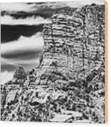 Western View Wood Print by John Rizzuto