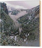 Western Yosemite Valley Wood Print by Bill Gallagher