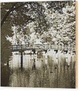 Westhamption Lake -2 Wood Print