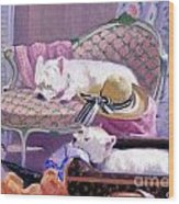 Westies Home Wood Print