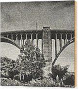 Westinghouse Bridge Pano Wood Print