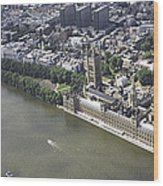 Westminister, London Wood Print