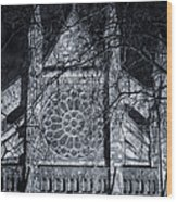 Westminster Abbey North Transept Wood Print