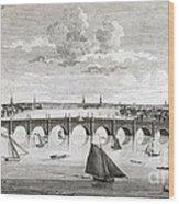 Westminster Bridge, London, Wood Print