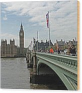 Westminster Bridge Wood Print