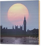 Westminster Hour Wood Print