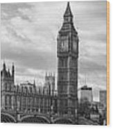 Westminster Panorama Wood Print