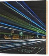 Westminster Trailing Lights Wood Print