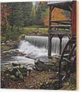 Weston Grist Mill Wood Print