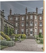 Weston Park House Wood Print