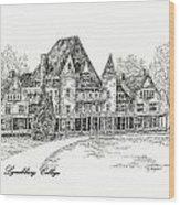 Westover Lynchburg College Wood Print