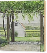 Westport Rivers Winery Wood Print