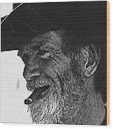 Westward Ho Homage 1935 Tombstone Slim Helldorado Days Tombstone Arizona 1968-2008 Wood Print