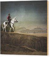 Westward Wood Print
