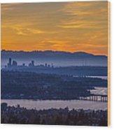 Gateway To Seattle Wood Print