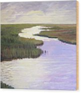 Wetlands Glory Wood Print