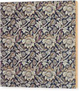 Wey Design Wood Print by William Morris