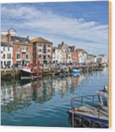 Weymouth Harbour Wood Print