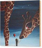 What Matters Most By Shawna Erback Wood Print by Shawna Erback