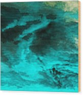 Whatever Become Of Acid Rain? Wood Print