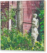 What's A Nice Goddess Like You Doing In A Place Like This?  Wood Print
