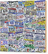 What's Your License? Wood Print by Bedros Awak