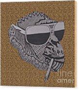 Whatssup Dawg  Leopard Wood Print