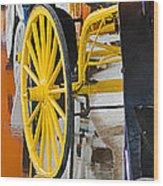 Wheel Colors Wood Print