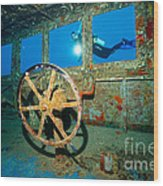 Wheel House Wood Print