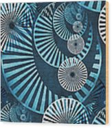 Wheel In The Sky 1 Wood Print by Angelina Vick