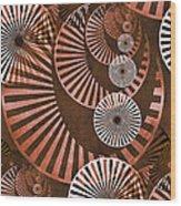 Wheel In The Sky 2 Wood Print