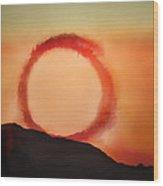 Wheel In The Sky Wood Print