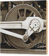 Wheel Power Wood Print