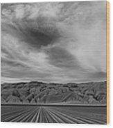 Wheeler Ridge Wood Print