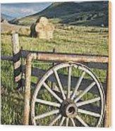 Wheelgate Wood Print