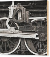 Wheels And Rods Wood Print