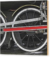 Wheels Of The Kingston Flyer Wood Print