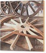Wheelwright Wood Print