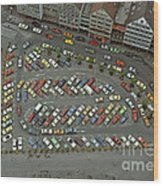 When Cars Were Colorful 1980s Wood Print by David Davies